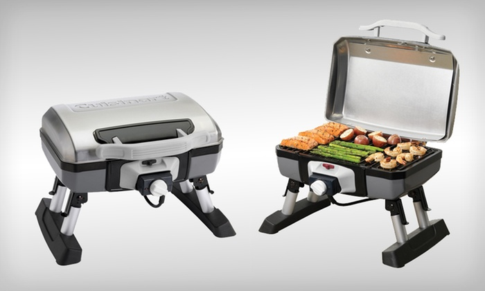 Delightful ... Up To 46% Off Cuisinart Grilling Set Or Grill ...