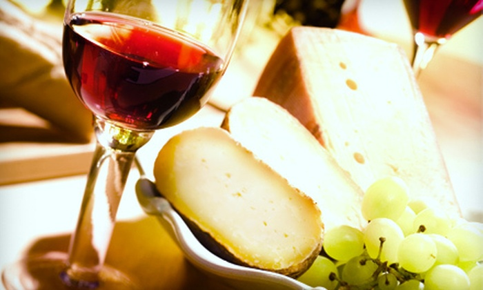 Oliva Vineyards - Fort Edward: Wine-and-Cheese Tasting with Souvenir Wineglasses for Two or Four at Oliva Vineyards (Up to 54% Off)