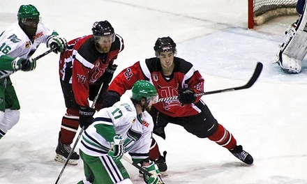 $11 for a Dayton Demonz Hockey Game for Two at Hara Arena ($21 Value). 28 Games Available.