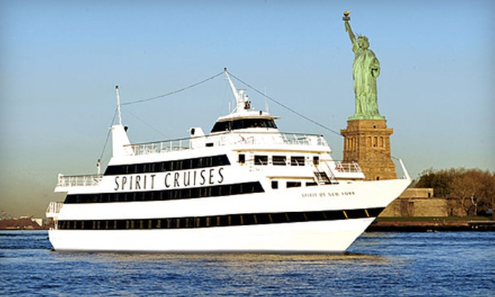 Spirit of New York - Chelsea: Three-Hour Dinner Cruise on the Spirit of New York (Up to Half Off). Two Options Available.