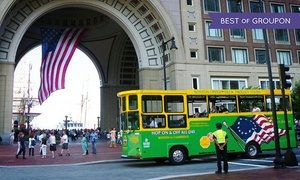 Boston Super Tours: Narrated One- or Two-Day Trolley Tours of Boston for Adults or Children from Boston Super Tours (Up to 46% Off)