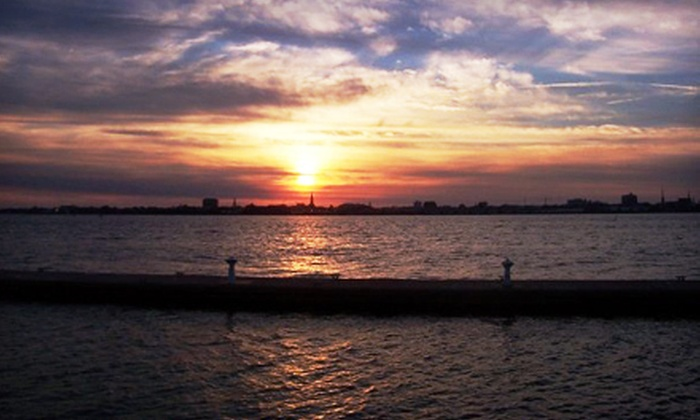 Charleston Water Taxi - Mt. Pleasant: Sunset Cruise for Two or Four from Charleston Water Taxi (Up to 53% Off)