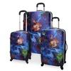 Travelers Club Luggage 3-Piece Hard-Sided Luggage Set