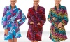 PJNY Women's Plush Robes: PJNY Women's Plush Robes. Multiple Styles Available. Free Shipping and Returns.