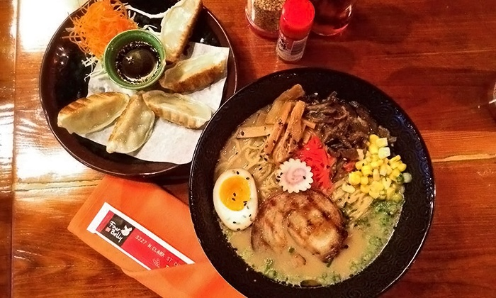 Four Belly Asian Street Food - Lakeview: $12 for $20 Worth of Asian Fusion Cuisine at Four Belly Asian Street Food