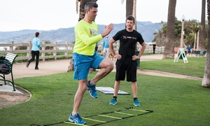 Prime Fit Elite: Gym Membership with Four Private or Six Group Personal-Training Sessions at Prime Fit Elite (Up to 83% Off)