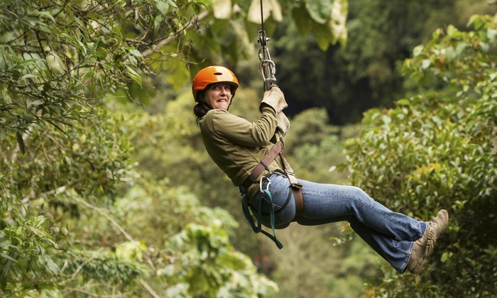 Wilderness Presidential Resort - Chancellor: Treetop Obstacle Course with Ziplining from Wilderness Presidential Resorts (47% Off)