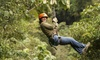 46% Off a Treetop Obstacle Course with Ziplining