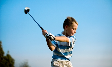 $139 for a Week of Kids Golf Camp at Fore Kids Golf Academy at Eaton Canyon Golf Course ($275 Value)