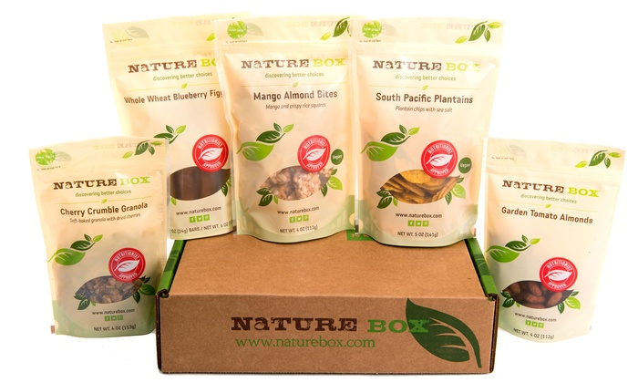NatureBox: $35 for a Three-Month Deluxe Package Subscription to NatureBox ($59.85 Value)