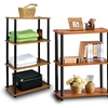 Furinno 3- and 4-Tier Bookcase Shelving Units