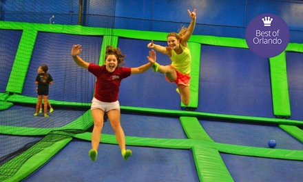 Unlimited Trampoline Jumping for Two or Four at AirHeads Trampoline Arena in Orlando (Up to 42% Off)