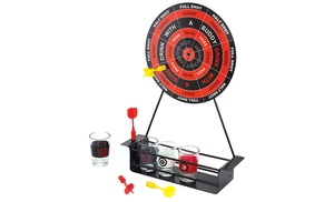 Mini darts and shot glass game groupon goods for 12 in 1 game table groupon