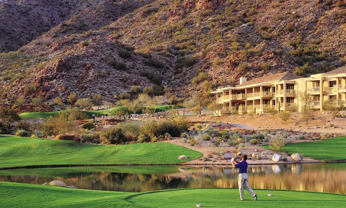 The Golf Club at The Phoenician - Camelback East: Golf Rounds or Lessons at The Golf Club at The Phoenician (Up to 55% Off). Four Options Available.