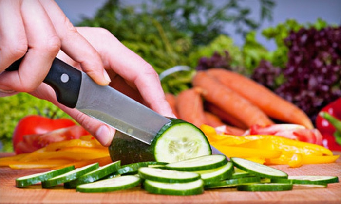 Peachy's Health Smart - Cincinnati: 1.5-Hour Healthy-Cooking Class for One or Two at Peachy's Health Smart (Up to 52% Off)