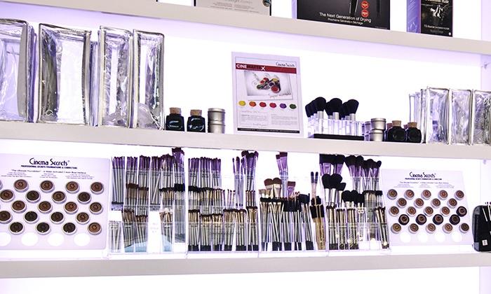 Cinema Secrets - Burbank/Toluca Lake: Cosmetics or One-Hour Makeup Lesson at Cinema Secrets (Up to 51% Off)