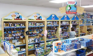 Milepost 38 Model Trains: Toy Trains and Accessories at Milepost 38 Model Trains (50% Off). Two Options Available.