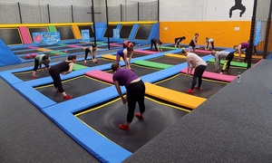 Ibounce Trampoline Park: Parent and Toddler Entry to iBounce Trampoline Park (25% Off)