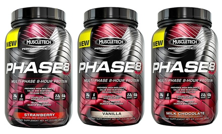 Buy 1 get 1 Free: MuscleTech Phase 8 Protein Powder (22 Servings)