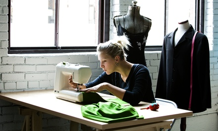 Introductory Sewing Class for Two People at Sew More Couture (68% Off)