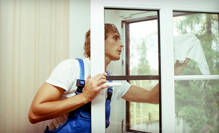 Interior and Exterior Window Cleaning for Up to 25 or 50 Panes from Salt Lake City Window Cleaning (Half Off)