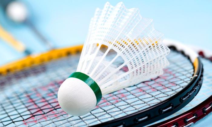Sportcenter Bushido - Sportcenter Bushido: 5er- oder 10er-Karte für Badminton oder Squash inkl. Sauna im Sportcenter Bushido (bis zu 73% sparen*)