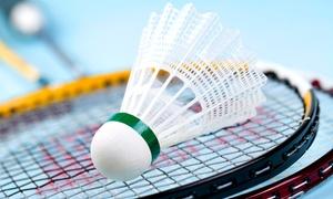 Sportcenter Bushido: 5er- oder 10er-Karte für Badminton oder Squash inkl. Sauna im Sportcenter Bushido (bis zu 73% sparen*)