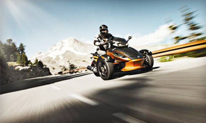 Let's Ride Rentals - Let's Ride Rentals: One or Two Half-Day Can-Am Spyder RS Rentals from Let's Ride Rentals in Albany (Up to 54% Off)