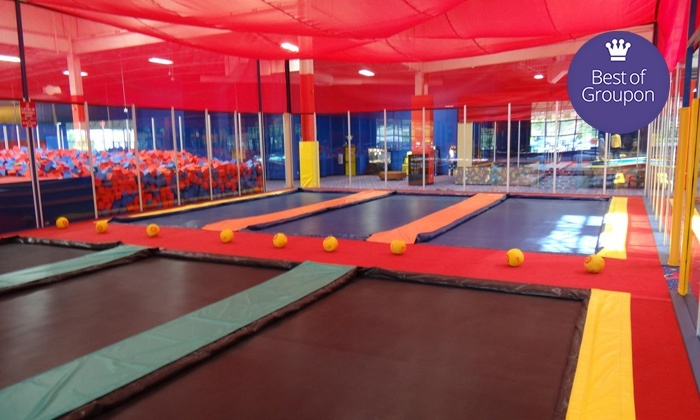 TK perfect refeature -DQ - Multiple Locations: Two Hours of Trampoline Jumping, Games, and Activities for Two or Four at JumpStreet (Up to 57% Off)