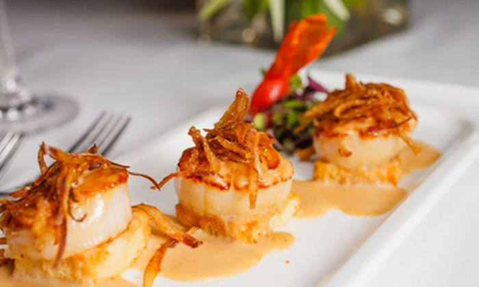Gordon's on the River - Naples: Fine Dining Cuisine Dinner for Two or Four with Appetizers and Entrees at Gordon's on the River (Up to Half Off)