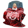 "NCAA 50""x60"" Raschel Throw Blankets"