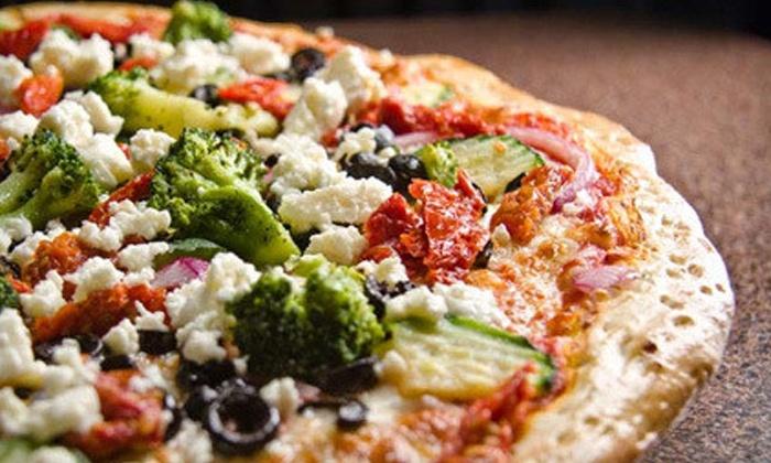 Slices N Squares at Lauzon Landing - Riverside: C$19 for Pizza Mealat Slices N Squares at Lauzon Landing (C$35 Value)