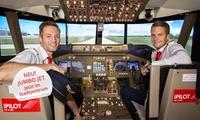 30, 60 oder 90 Min. Erlebnisflug im neuen Next Generation Jet Flugsimulator in Wiesbaden bei iPilot (bis zu 54% sparen*)