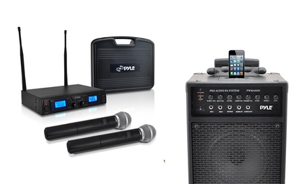 Pyle Microphones and PA Systems from $17.99–$229.99