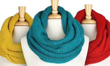 Women's Neck Warmer Infinity Scarf