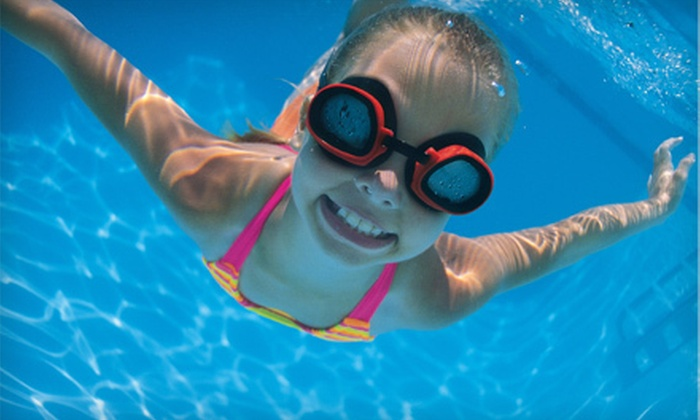 Open Water Adventures - Harris - Houston: $35 for One Month of Children's Group Swimming Lessons at Open Water Adventures ($95 Value)