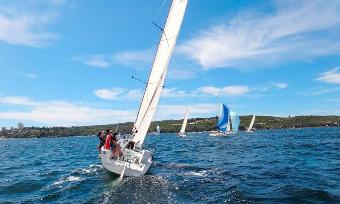 Topsides Up - Rose Bay: Sailing Lesson on Sydney Harbour for One ($69) or Two People ($129) with Topsides Up (Up to $258 Value)