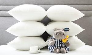 6 Silentnight Pillows for £19.99