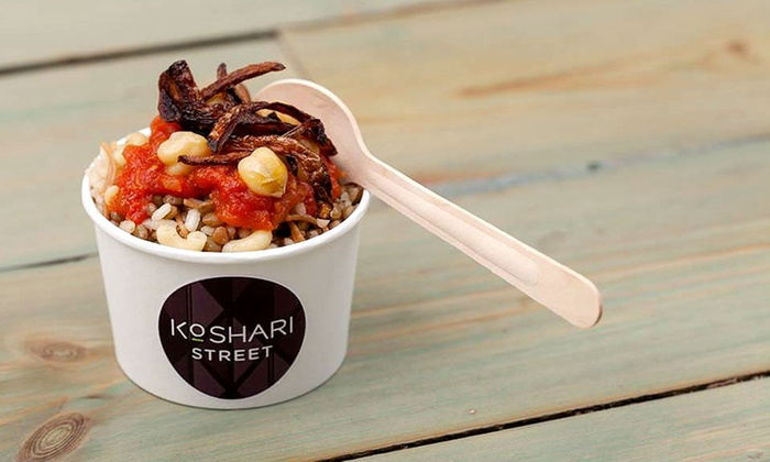 Koshari Street - London: Egyptian Street Food With Drink from £5 at Koshari Street, Covent Garden (Up to 47% Off)