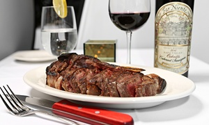 Blackstones Steakhouse: Prix Fixe Dinner for Two or Four or Takeout at Blackstones Steakhouse in Greenwich (Up to 50% Off)