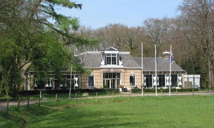 Friesland: 1 tot 3 nachten voor twee bij Hotel 'de OORSPRONG' inclusief ontbijt en naar keuze 4gangendiner