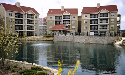Stay at Wyndham Branson at The Meadows in Branson, MO. Dates into September.