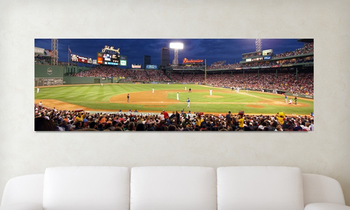 Baseball-Stadium Panoramic Gallery-Wrapped Canvas: $79.99 for a Baseball-Stadium Gallery-Wrapped Canvas ($170 List Price). 29 Options Available. Free Shipping and Returns.