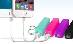 1 Or 2 Aduro Powerup 2000mah Portable Backup Batteries ($6.99 - $11.99)