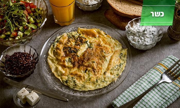 קפה חרוצים - ירושלים: קפה חרוצים הכשר למהדרין בתלפיות: מגוון ארוחות בוקר 1+1 ב-44 ₪ בלבד! תקף גם בשישי