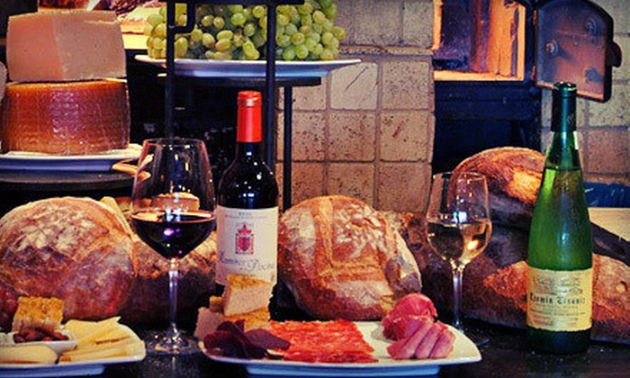 Wine Bar - La Cerveceria: $25 for $50 Worth of European Tapas and Wine at Wine Bar