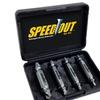 SpeedOut Pro 4-Piece Damaged Screw Extractor