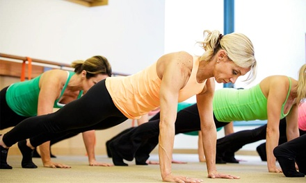 Five Classes, Two Weeks of Classes, or One Month of Classes at The Dailey Method (Up to 85% Off)