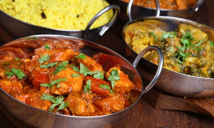 Indian Cuisine at Jolly's Indian Bistro (Up to 52% Off). Two Options Available.