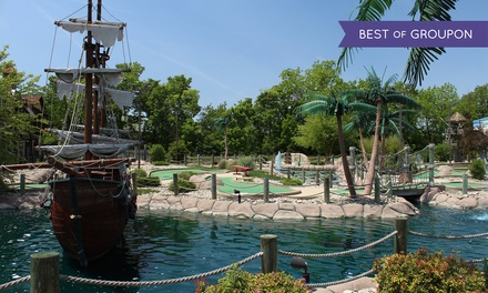$14 for Four Rounds of Mini Golf at Pirates' Cove (Up to $26 Value)
